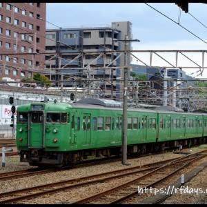 JR西日本 103系・105系探訪記(9/16・祝、その1)