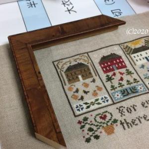 額装 Little House Needleworks Four Seasons