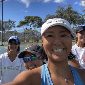 Saturday morning tennis