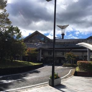 10月13日9時位の軽井沢の様子です。