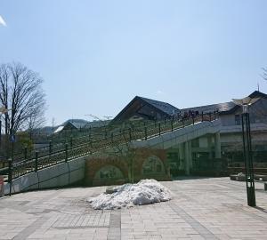 少し寂しい今日の軽井沢