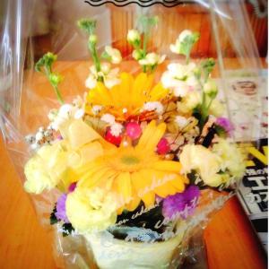 お花とラーメンとドライフルーツ(^^♪