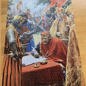 マグナカルタのパズル