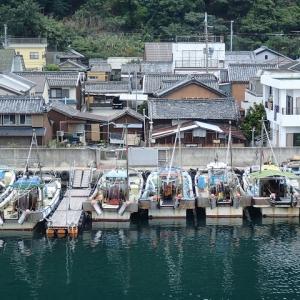 大阪府の深日港から淡路島に上陸の巻