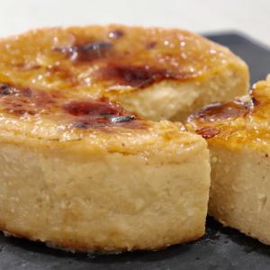 混ぜて焼いたら塩キャラメルチーズケーキの作り方