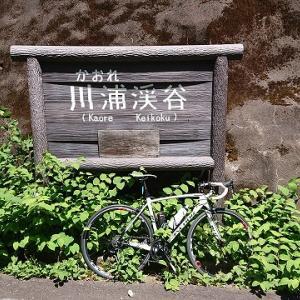 板取の川浦渓谷へ行ってきました