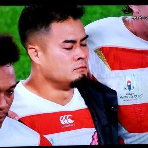 ラグビー日本代表、強豪国の中でのベスト8は立派でした。お疲れ様でした!