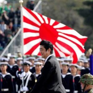 頑張れ安倍総理。頑張ろう日本。