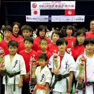 黒岡和歌山支部長(青森県三沢市出身)主催の、全和歌山県大会の応援です。