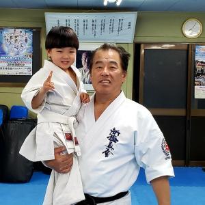 愛媛本部の少年クラスと一般部の指導でした。
