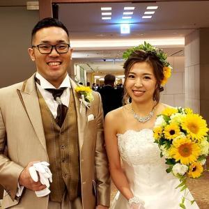 入来建武選手ご夫妻、ご結婚おめでとうございます!