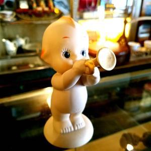 ローズオニール キューピー陶器人形