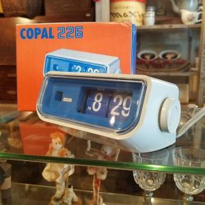 スペースエイジなCOPAL/コパルのパタパタ時計 60Hz用