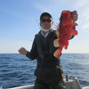 15日水曜オニカサゴ出船しました。
