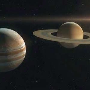木星と土星が大接近。