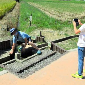 事件をニュースで知って…「3県境」に観光客続々、SNSでも注目。