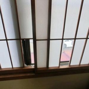 DIY 障子をポリカで内窓にする