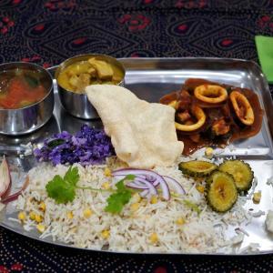 南インド料理レッスン