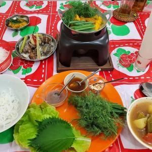 8月のレッスンより ベトナムをもっとしって欲しい。北の料理と南の料理