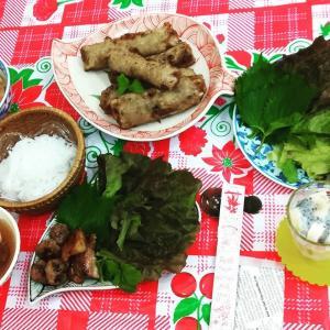8月のベトナム料理 ブンチャー