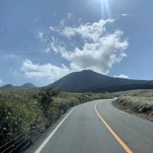 九州のへそ、阿蘇山に行ってきました。