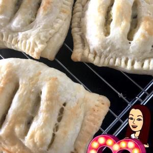 さつまいもパイ作ってみた