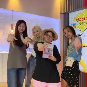 200603 TWICE モモ&ツウィ&チェヨン『正午の希望曲キム・シニョンです』収録【画像】