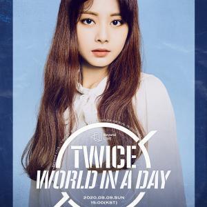 200726 TWICEツウィ オンラインコンサート『World in A Day』ポスター画像
