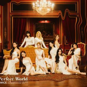 TWICE 日本3rdアルバム『Perfect World』ジャケット写真 【高画質画像】