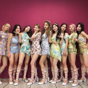 210619 TWICE 『音楽中心/Music Core』舞台裏写真 【高画質画像】