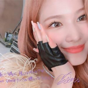 210722 TWICE サナ 日本3rdアルバム『Perfect World』メッセージ画像