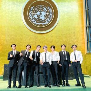 210920 防弾少年団/バンタン『第76回国連総会:国連本部議場』記念写真 【高画質画像】