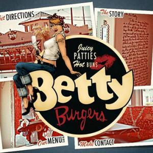 ボリューム満点のバーガー☆Betty's Burgers