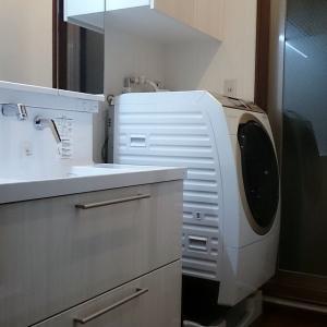 洗面室の収納力+α。