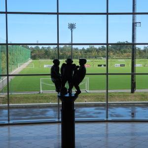 ナショナルトレーニングセンター Jヴィレッジ  福島ツアー  その2