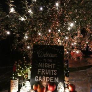 幻想的な世界に感動 夜の果樹園 in ふくしま 福島ツアー  その6