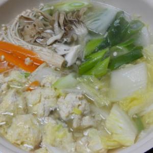 創味シャンタンで鶏つくね鍋 #絶品シャンタン鍋