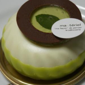 【ヴェール・マント ミント感がすごーいケーキ 】
