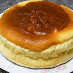 しゅわしゅわスフレチーズケーキ