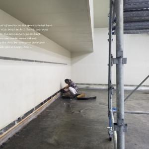 倉庫塗装工事START!