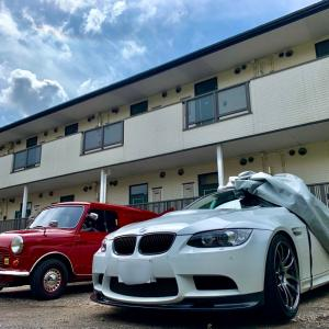 BMW社外WORK 出張即日車につけたままホイールリペア(千葉市中央区Y様)