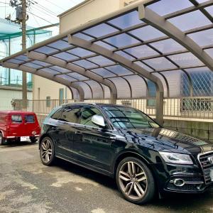 Audi SQ5 出張即日車につけたままホイールリペア(東京都江戸川区G様)