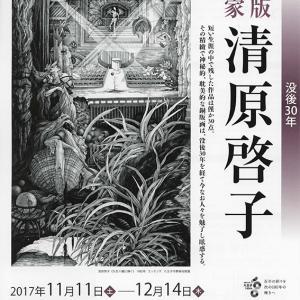 「没後30年 銅版画家 清原啓子」展@八王子市夢美術館