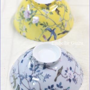 フレンチシノワズリデザインのお茶碗