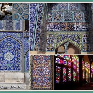 タイルの楽園、イラン。