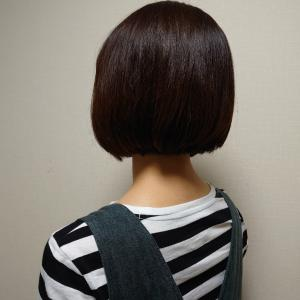 ひさびさに髪を切りました♪