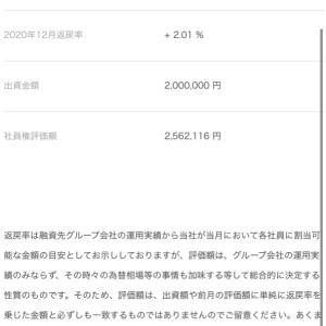 エクシア12月の利回り2.01%!過去最低