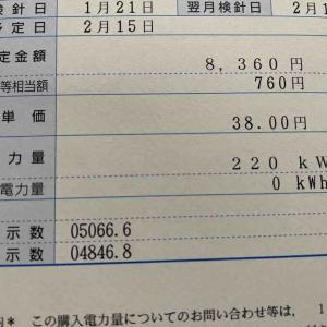 物件9号太陽光発電の売電再開!