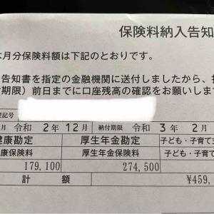 ボーナスのせいで社会保険料負担がハンパね~!