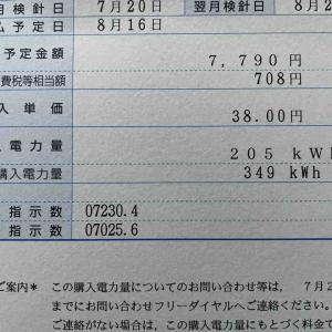 物件9号太陽光発電結果7月分